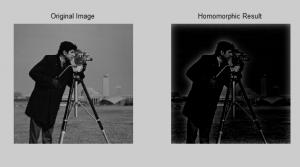 سورس کد فیلتر همومورفیک در تصویر