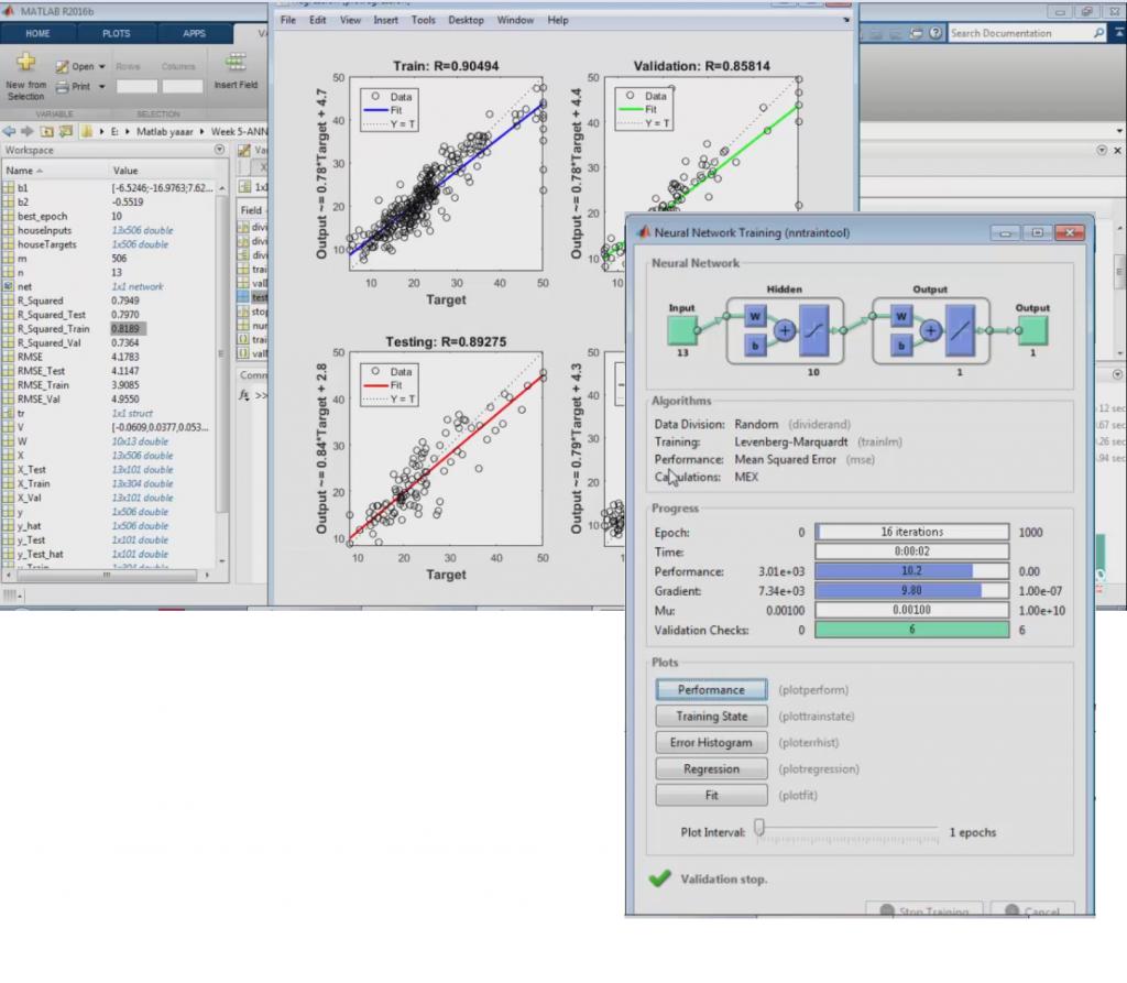 آموزش یادگیری ماشین – شبکه های عصبی ۲ (پیاده سازی در متلب) – پروژه شناسایی اعداد – قسمت ۱۸