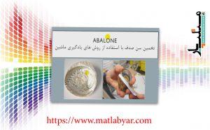 کلاس بندی دیتاست آبالون abalone